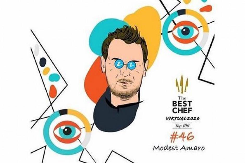 Wojciech Modest Amaro jedynym Polakiem wśród laureatów The Best Chef Awards Top100 2020