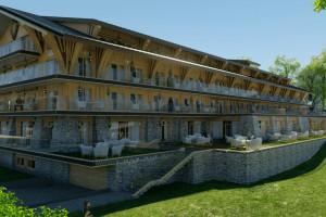 Przy Krupówkach rośnie Hotel Mountain Diamond