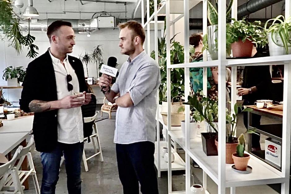Mateusz Gessler otwiera nową restaurację (wideo)