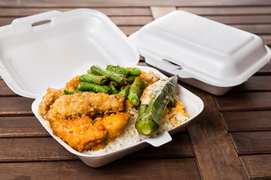 USA: w stanie Maryland zakazano używania styropianowych pudełek na jedzenie