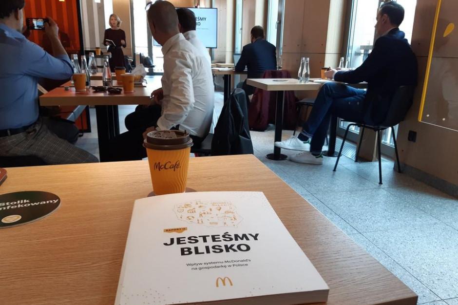 McDonald's podsumowuje swój wpływ na gospodarkę