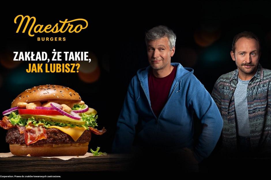 Michał Żebrowski i Borys Szyc w reklamie McDonald's