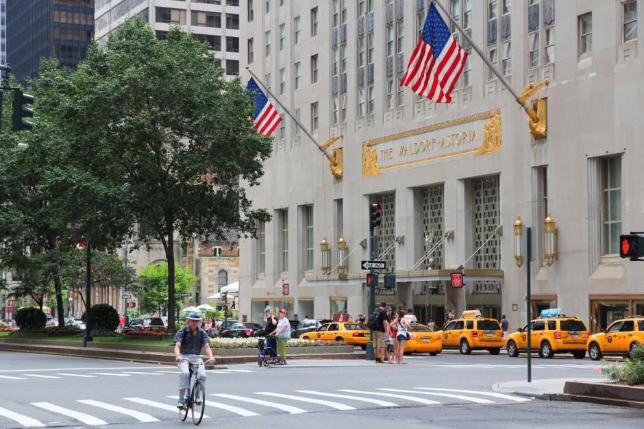 Wyposażenie legendarnego hotelu Waldorf Astoria trafi na sprzedaż