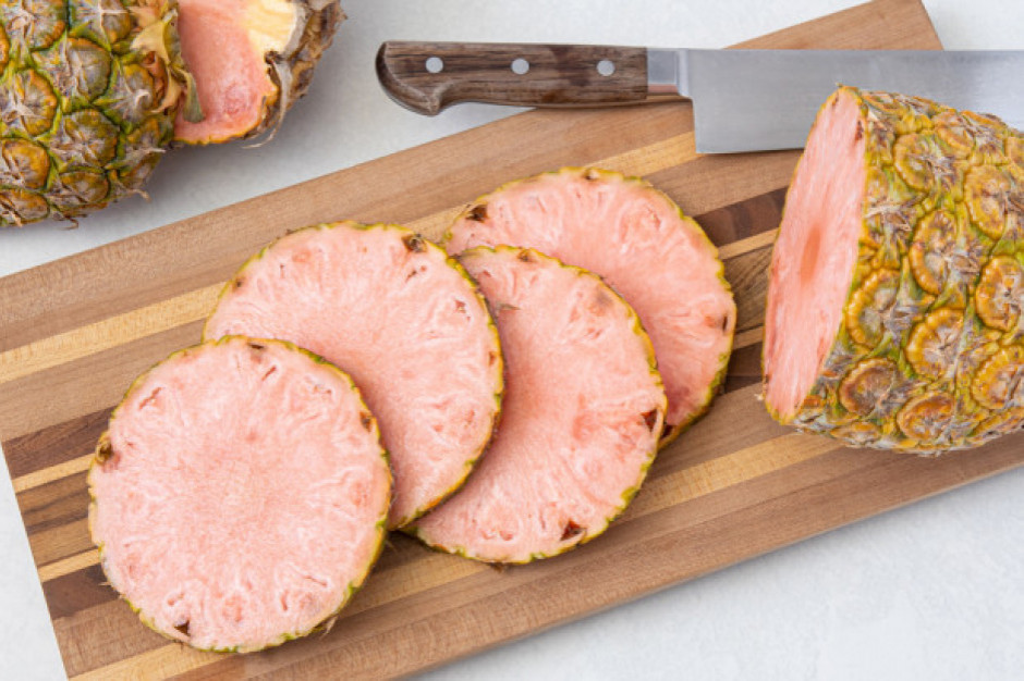 Ananas Pinkglow - luksusowy różowy ananas