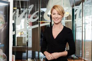 Anna Borys-Karwacka, członek zarządu McDonald's uczestniczką Internetowego Forum Rynku Spożywczego i Handlu