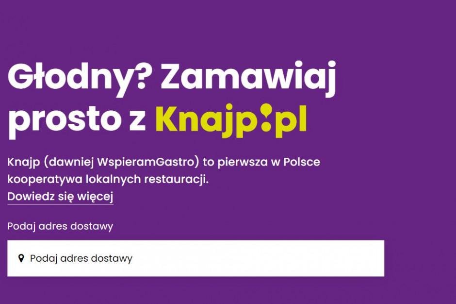 Wystartowała knajp.pl - spółdzielcza platforma do zamawiania online jedzenia
