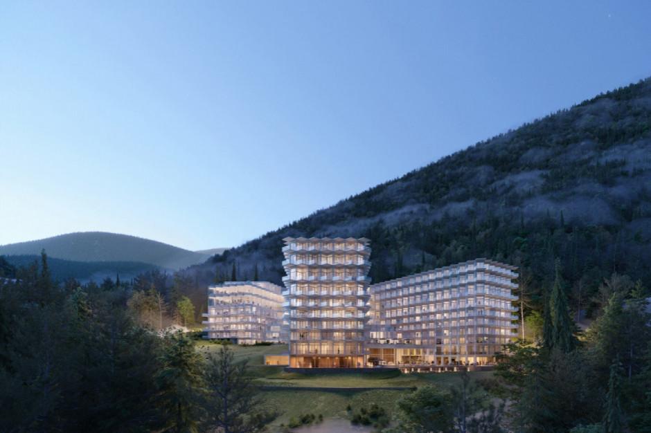 Hotel Crystal Mountain w Wiśle już prawie gotowy