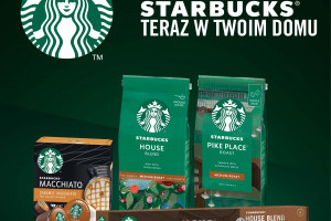 Nestlé z kolejnymi kawami Starbucks do przyrządzania w domu