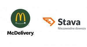 McDonald's rozwija dowozy ze Stavą. McDelivery pojawi się w nowych miastach