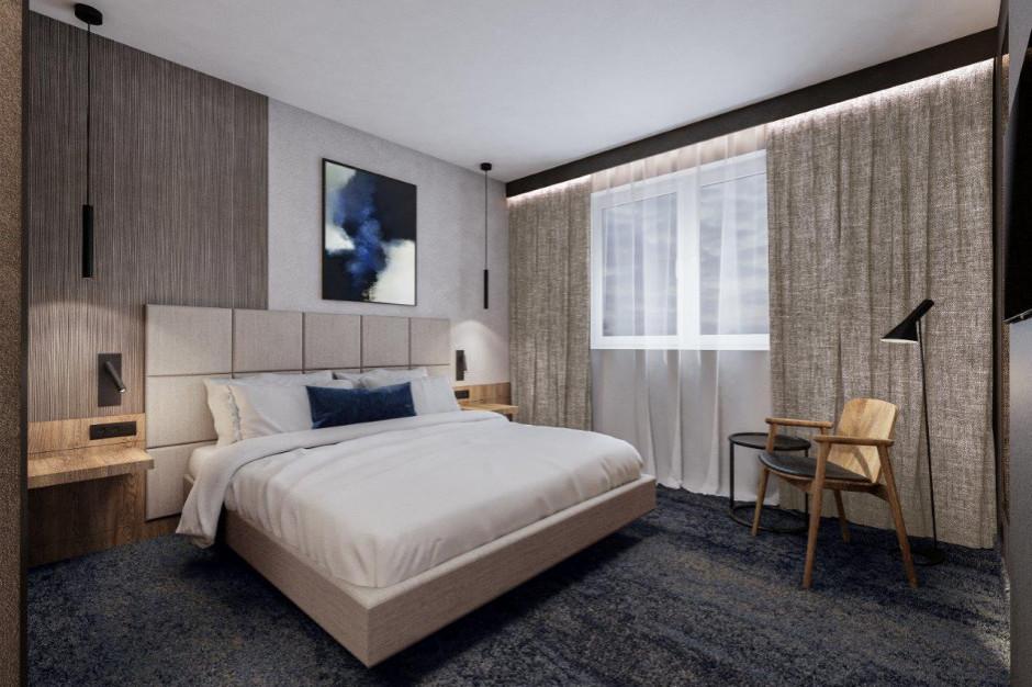 Hotel Kopernik Olsztyn: zmiana szyldu i wnętrza