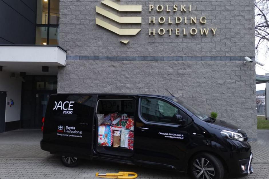 Polski Holding Hotelowy włącza się w świąteczną pomoc