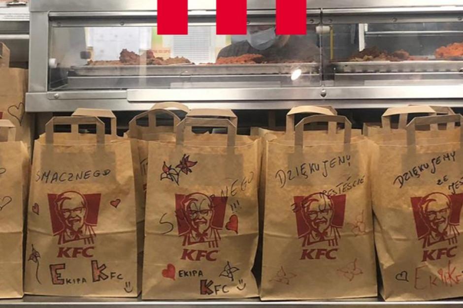 KFC ponownie wspiera służbę zdrowia