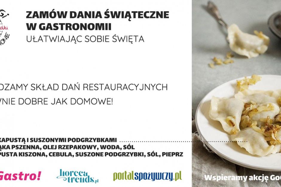 #GoGastro! - CzytajSkład.com i Horecatrends.pl wspierają polską gastronomię