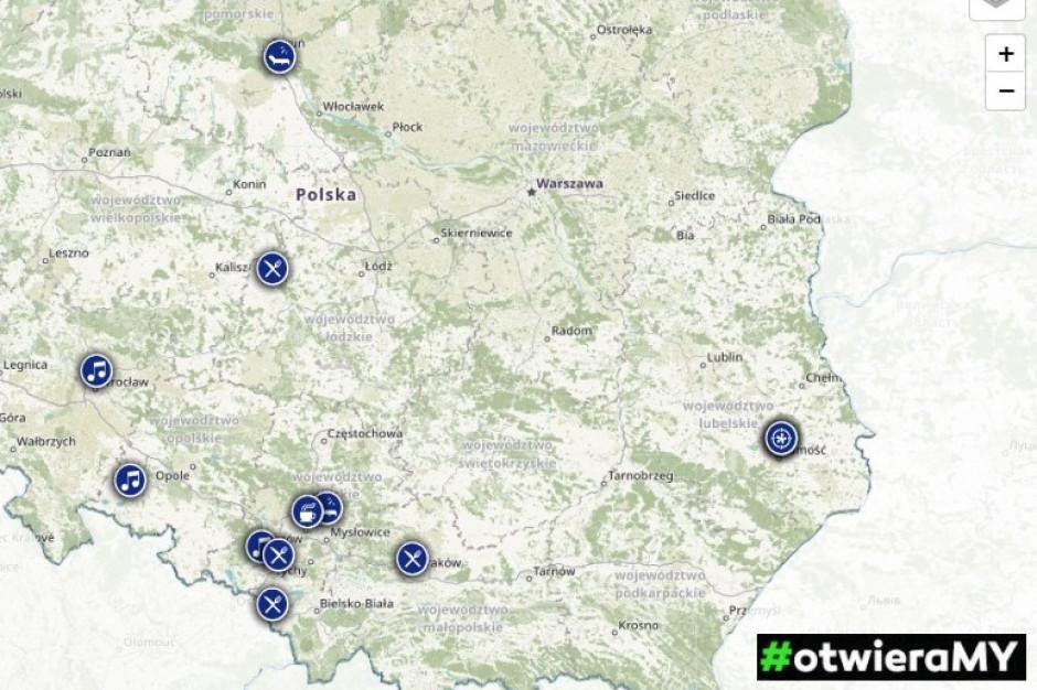 #otwieraMY – powstała interaktywna mapa wolnego biznesu