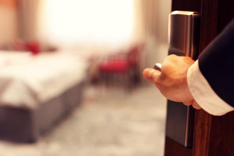 W większości hoteli w Polsce frekwencja sięga ok. 10 proc.