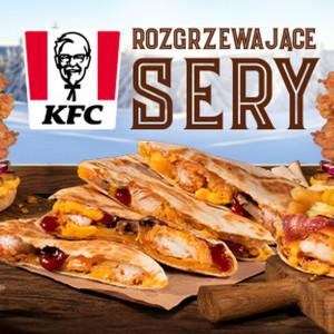 W KFC pojawiła się promocja Rozgrzewające sery