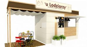 """Mobilna lodziarnia z ogródkiem nowym konceptem """"u Lodziarzy"""""""