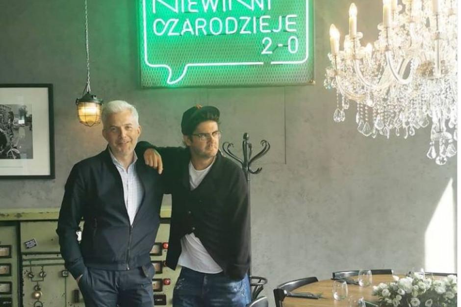 Kuba Wojewódzki sprzedał udziały w swojej restauracji Niewinni Czarodzieje 2.0