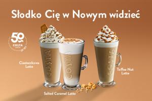 Costa Coffee wystartowała z nową, zimową kampanią