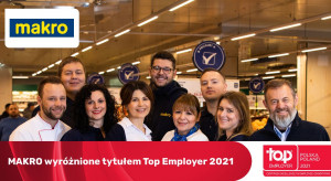 MAKRO Polska z tytułem Top Employer