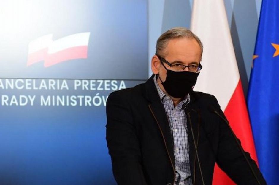 Minister zdrowia: Do czwartku będzie decyzja w sprawie obostrzeń