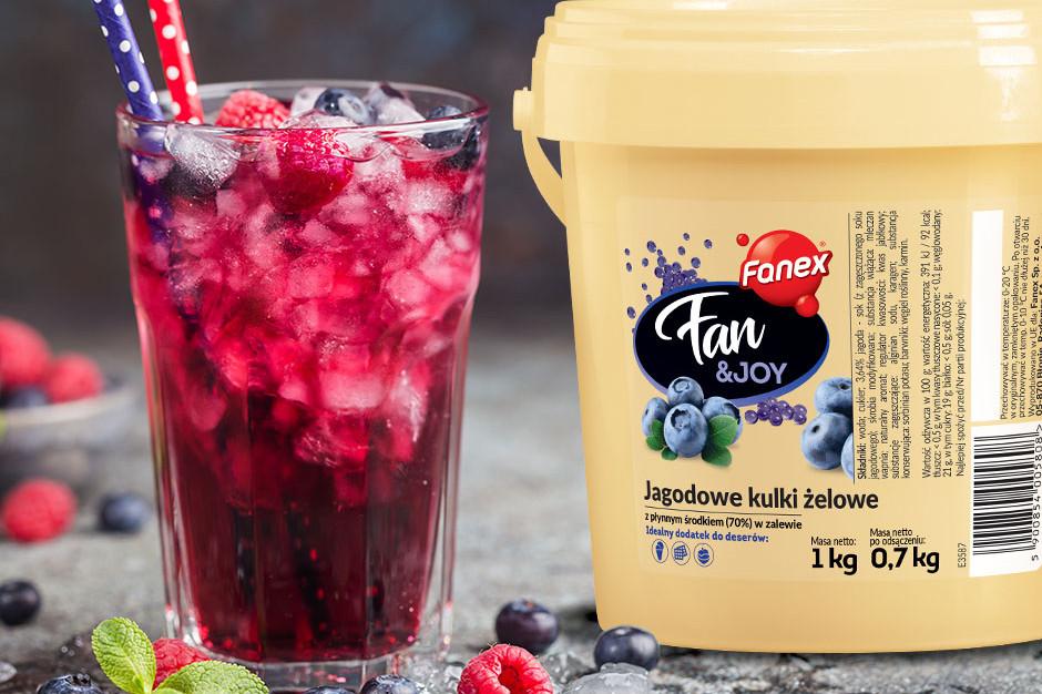 Oferta sklepu Fanex została wzbogacona o oryginalne dodatki do deserów – kulki żelowe Fan&Joy.  / fot. materiały prasowe