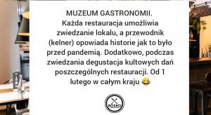 Muzeum gastronomii - czy po decyzji rządu czeka nas lawina otwarć?