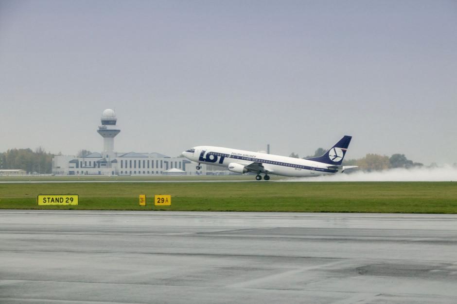 Lubuskie: LOT nadal będzie wykonywał loty do stolicy