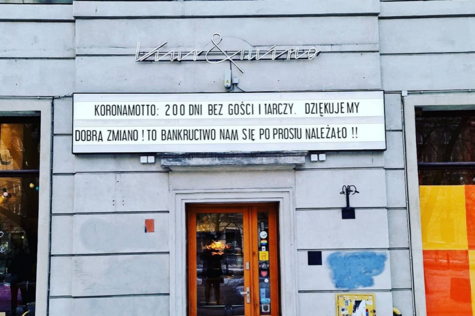 Lokal Piotra Najsztuba walczy o przetrwanie. Banki odmawiają kredytu!