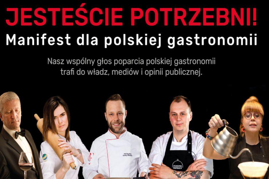 """""""Manifest dla polskiej gastronomii"""" głosem jedności branży"""