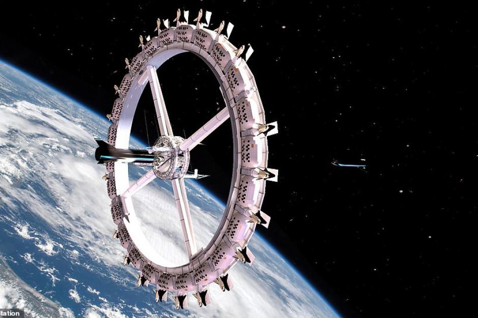 Kosmiczny hotel - budowa na orbicie okołoziemskiej ruszy w 2025 r.
