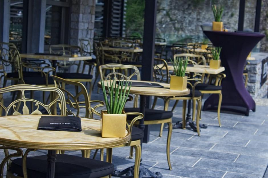 Po świętach mogą zostać otwarte ogródki restauracyjne