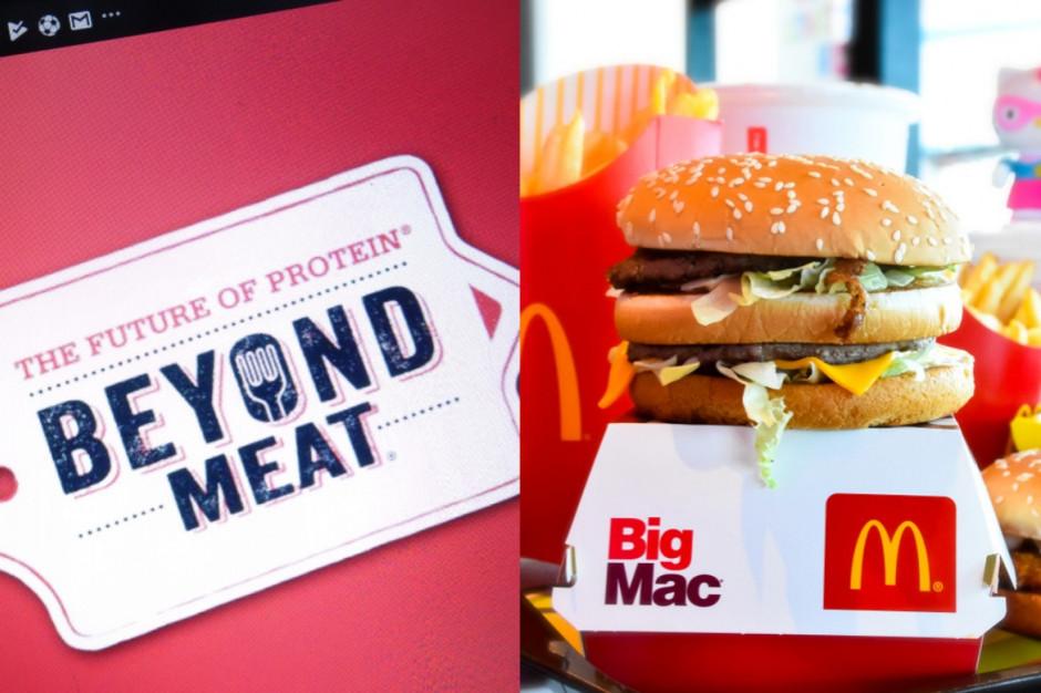 Beyond Meat globalnym partnerem McDonald's
