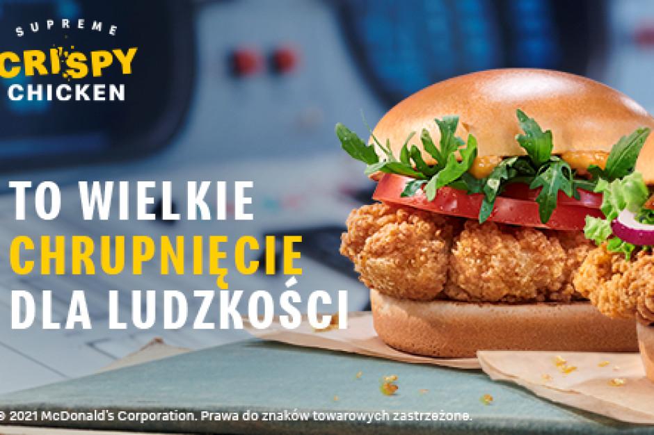 McDonald's z nową linią burgerów i wrapów Supreme Crispy Chicken Smoky