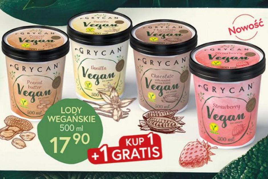 Grycan wprowadza owocowy smak lodów wegańskich