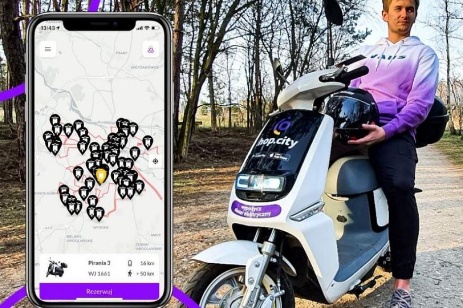 Polski producent e-skuterów współpracuje z food delivery w Portugalii