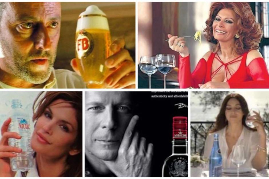 Które gwiazdy Hollywood reklamowały polskie produkty?