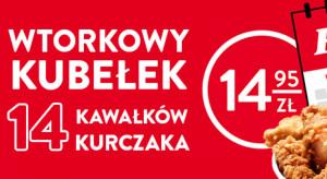 Wtorkowy kubełek KFC za 14.95 zł. Kiedy koniec promocji?