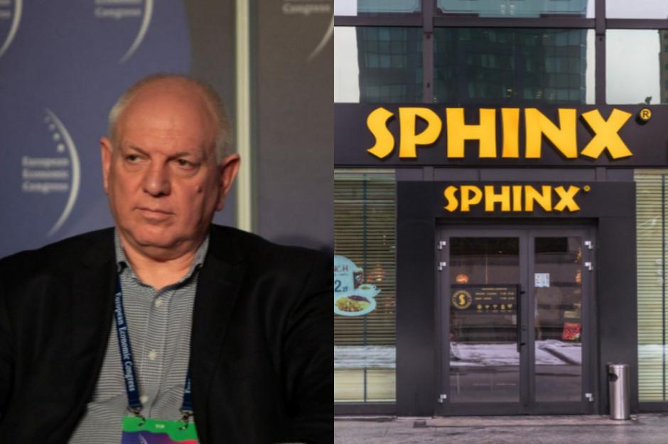 Cacek: W obecnym lockdownie Sfinks zamknął trzy lokale