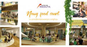 Atrium Reduta szykuje nowy food court