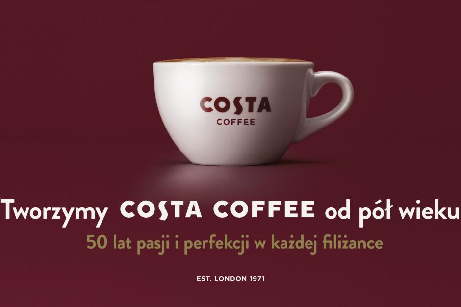 Rusza jubileuszowa kampania Costa Coffee na 50-lecie