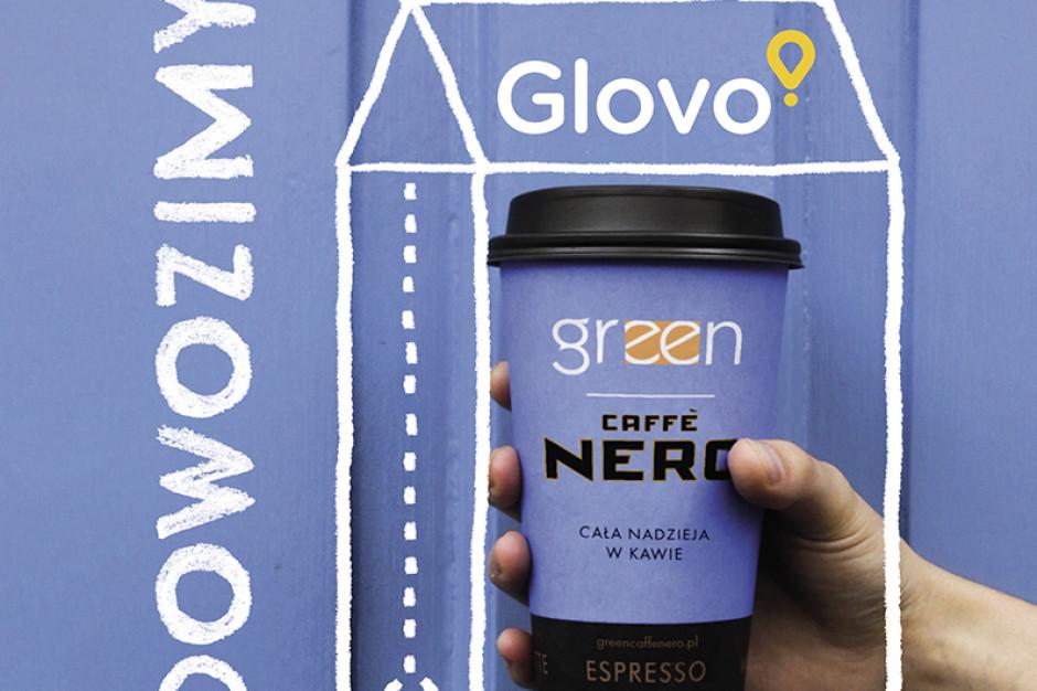 Green Caffè Nero nawiązało współpracę z Glovo