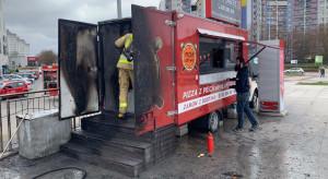 Spłonął food truck Pizza Drive. Trwa zbiórka pieniędzy