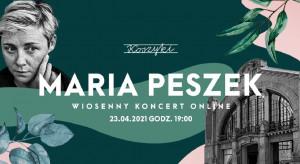 Maria Peszek w Hali Koszyki - zagra online