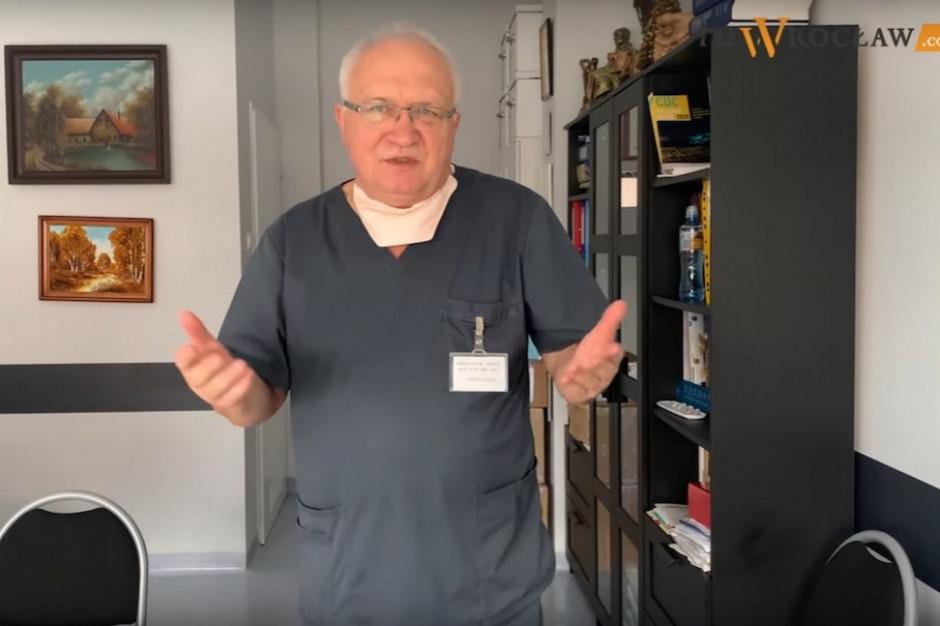 Prof. Simon popiera pomysł otwarcia gastronomii na powietrzu