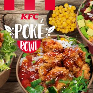 KFC chce dotrzeć do foodies. Zaprasza na poke bowl