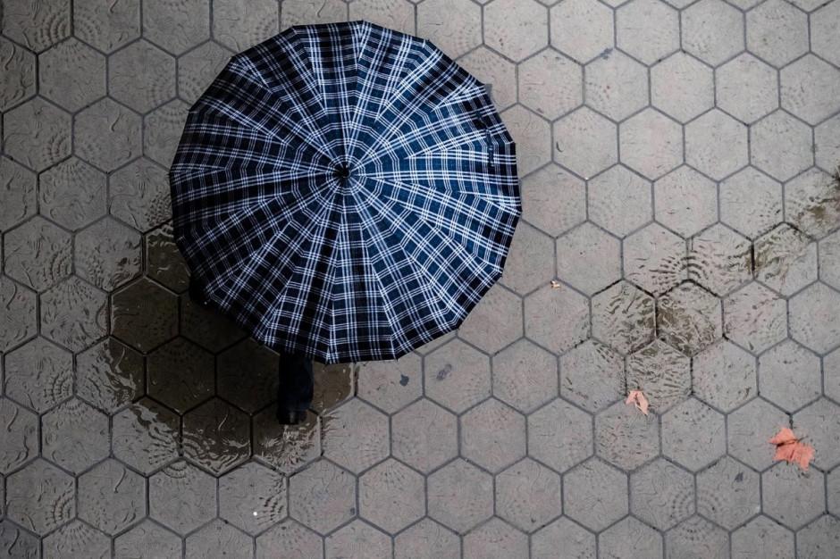 Kraków: jarmark zwierzyniecki - handlowi nie sprzyja deszcz