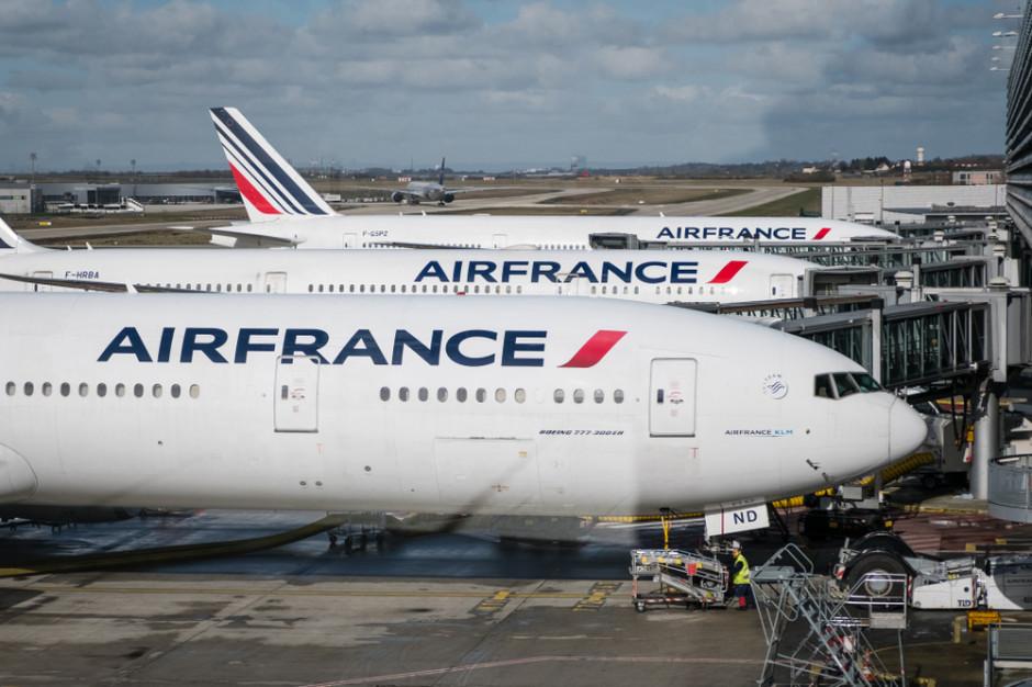 Air France przeleciał przez Atlantyk m.in. na zużytym oleju po frytkach