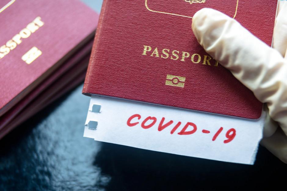 Paszporty szczepionkowe od 1 lipca