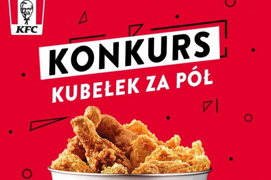 KFC Kubełek za pół - trwa konkurs